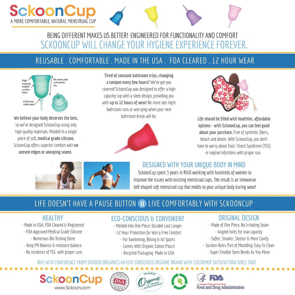 Menstrual Cups: A Healthier, More Comfortable, Environmentally Friendly Alternative for Feminine Hygiene