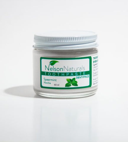 Nelson Naturals Remineralizing Toothpaste Spearmint