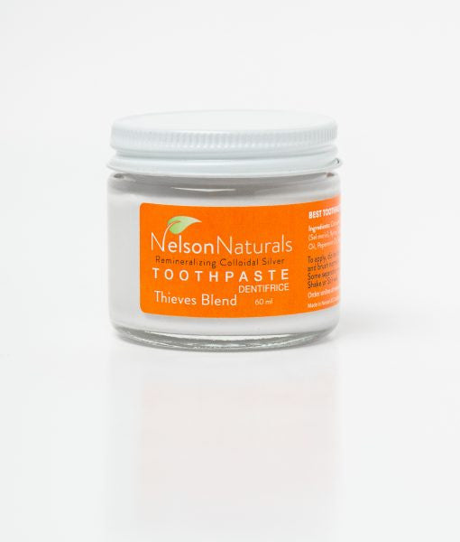 Nelson Naturals Remineralizing Toothpaste Thieves Blend