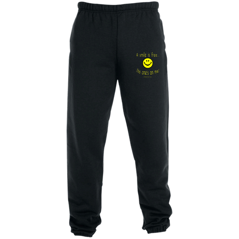 4850MP Sweatpants with Pockets Yellow Smile
