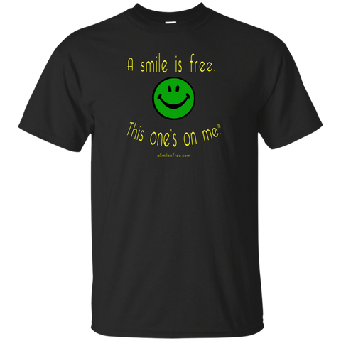 G200 Ultra Cotton T-Shirt Smile Jamaica GYB