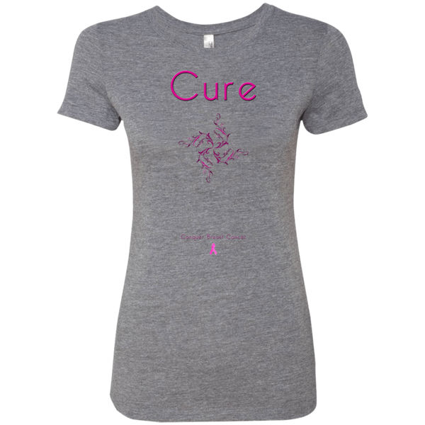 NL6710 Ladies' Triblend T-Shirt-Cure