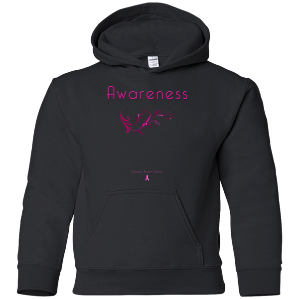 G185B Youth Pullover Hoodie-Awareness