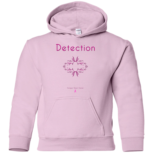 G185B Youth Pullover Hoodie-Detection
