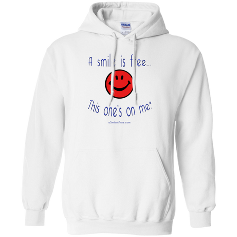 G185 Pullover Hoodie 8 oz. Smile America RBW