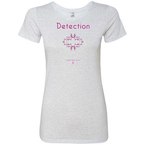 NL6710 Ladies' Triblend T-Shirt-Detection
