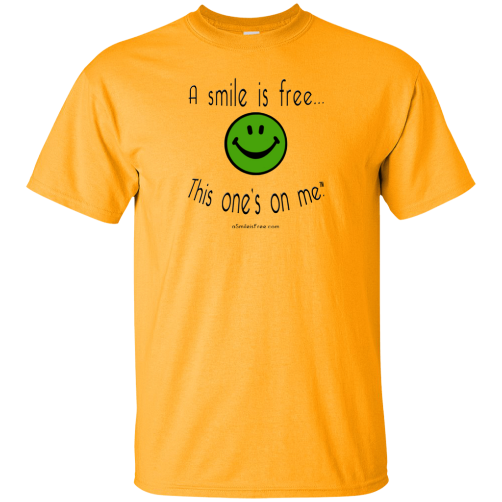 G200 Ultra Cotton T-Shirt Smile Jamaica GBY