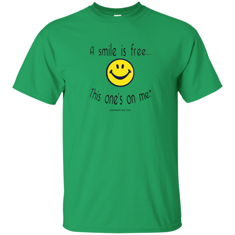 G200 Ultra Cotton T-Shirt Smile Jamaica YBG