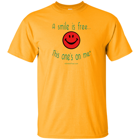 G200 Ultra Cotton T-Shirt Smile Rasta/Africa RGY