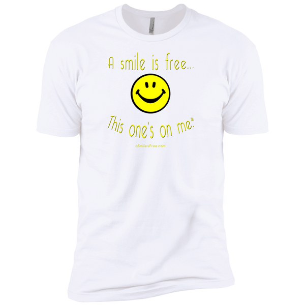 NL3600 Premium Short Sleeve T-Yellow Smile