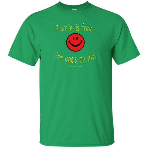 G200 Ultra Cotton T-Shirt Smile Rasta/Africa RYG