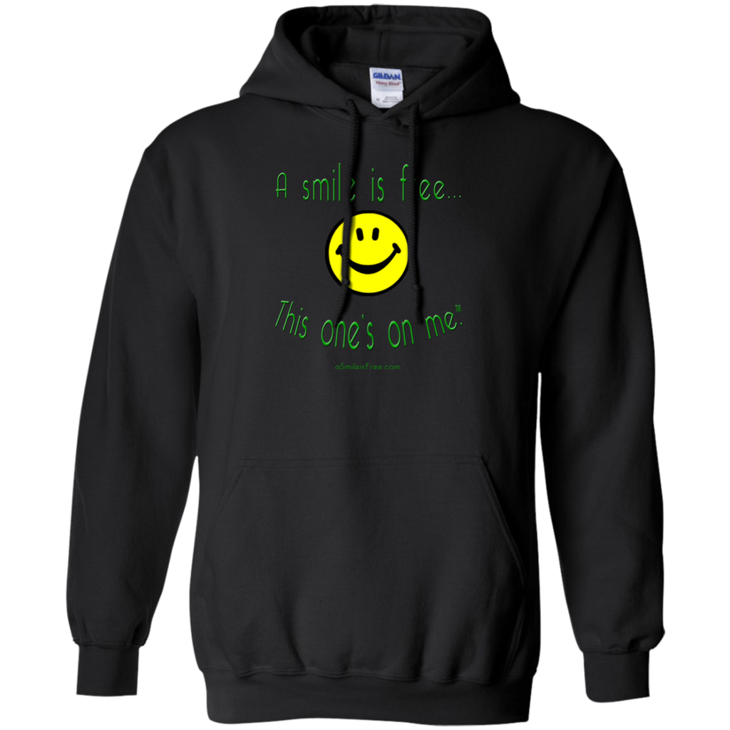 G185 Pullover Hoodie 8 oz. Smile Jamaica YGB