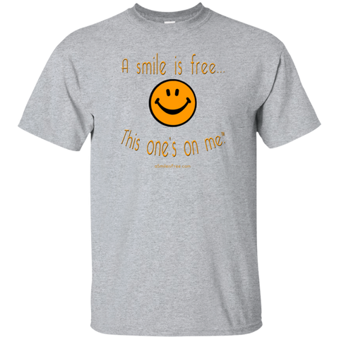 G200 Ultra Cotton T-Shirt Pumpkin Smile