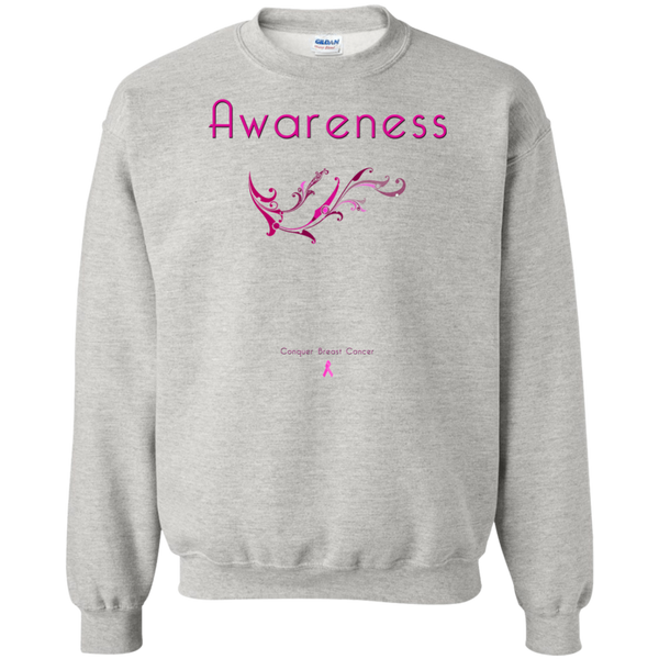 G180 Crewneck Pullover Sweatshirt  8 oz.-Awareness