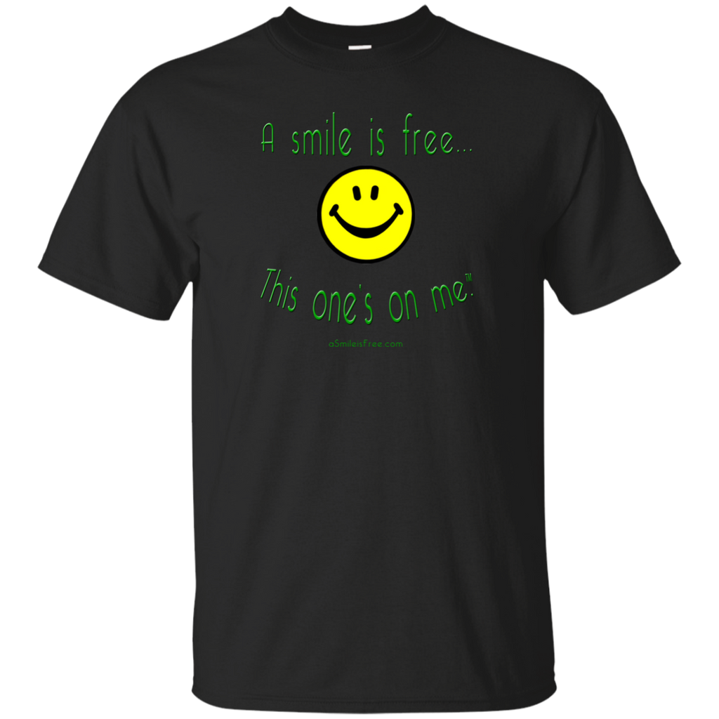 G200 Ultra Cotton T-Shirt Smile Jamaica YGB