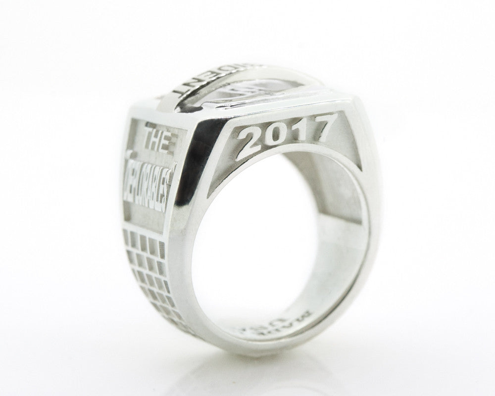 Trump MagaRing Mens Sterling Silver
