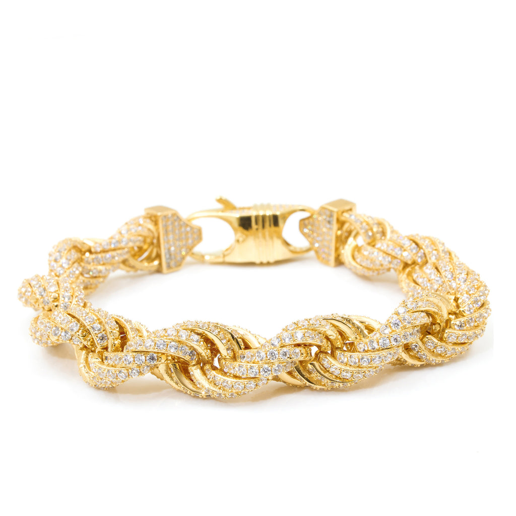 yellow h d product rope bracelet webstore samuel number gold