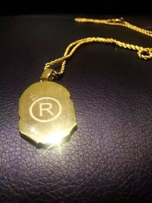 Bape pendant necklace chain