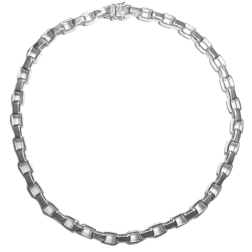 Hermes link bracelet chain 8mm plain