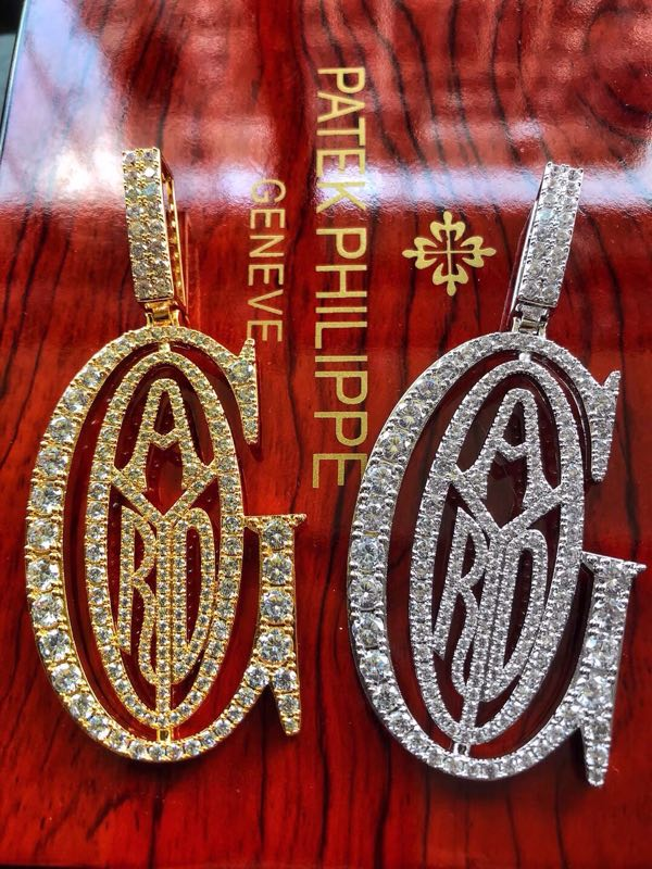 taste tyga goyard cops new chain ifandco pendant necklace chain vvs diamond