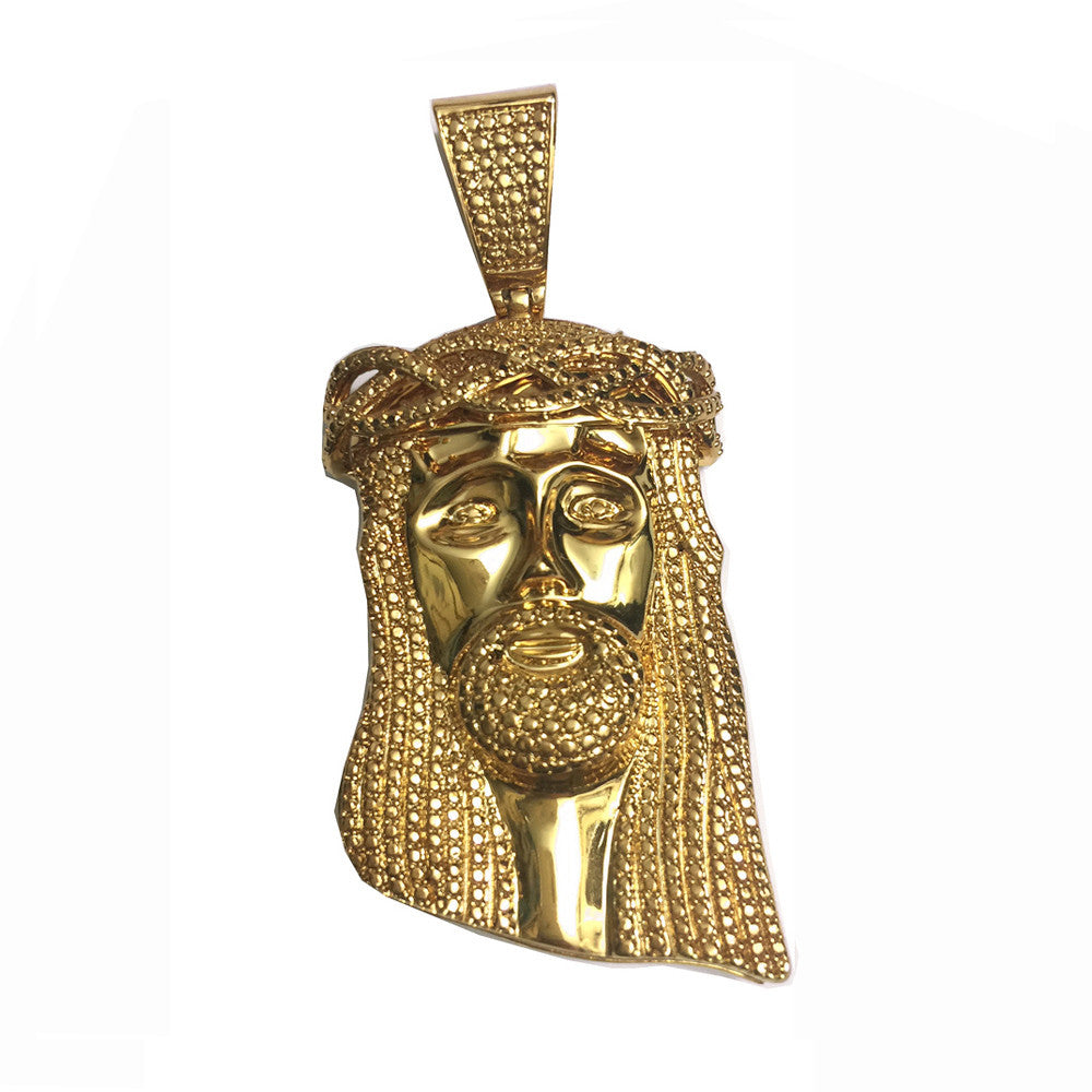sterling chains collections silver original gold image w over products diamond solid piece pendant and yellow jesus pendants lab