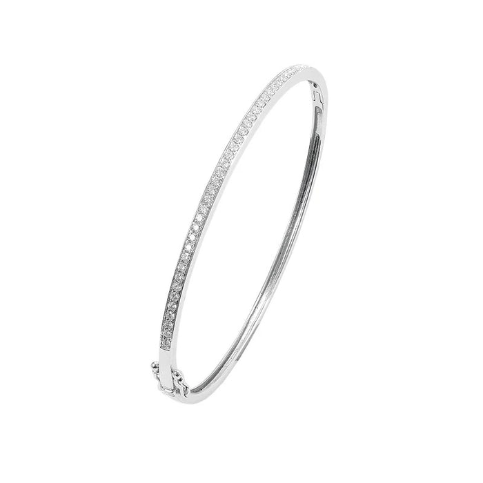 micro pave diamond bangle ifandco vvs kylie jenner travis scott