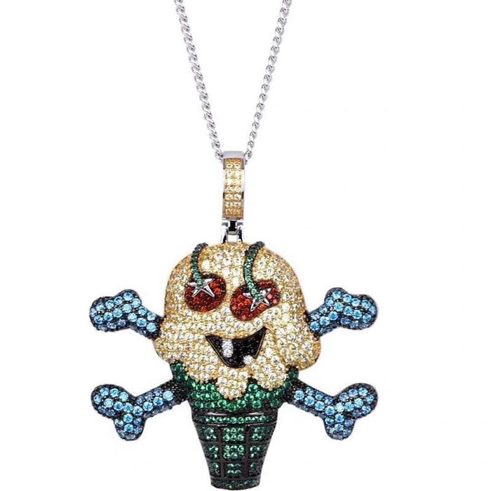 BBC ICECREAM's Iced-Out gh00o00st Pendants Replicate Nigo's Iconic Pieces