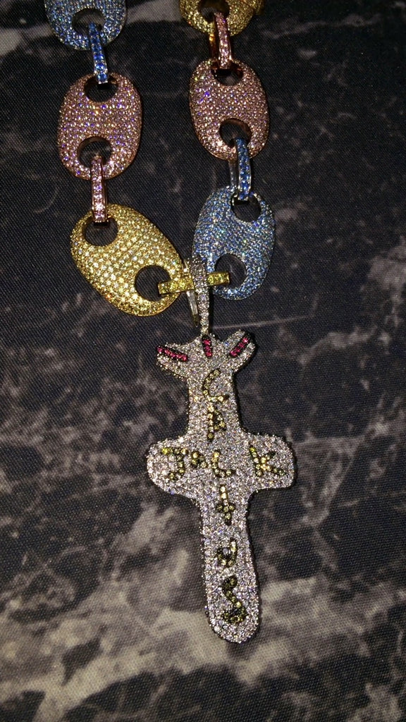 get travis scott buttefly effect cactus jack chain diamond kylie jenner free chain
