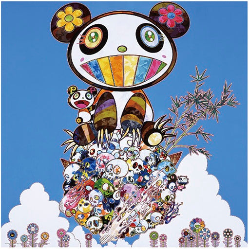 takashi murakami sakura panda louis vuitton panda cubs pendant necklace chain custom made ifandco kanye west
