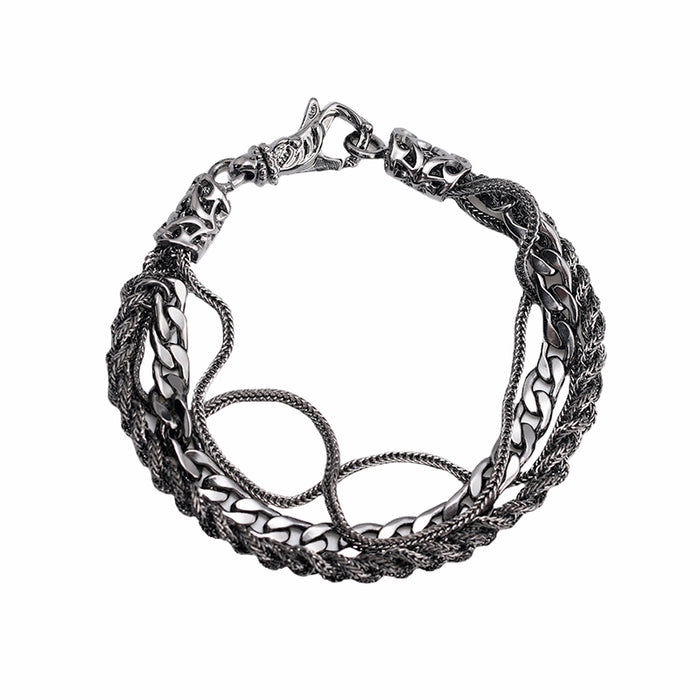 Emanuele Bicocchi for Men farfetch ssense braided bracelet