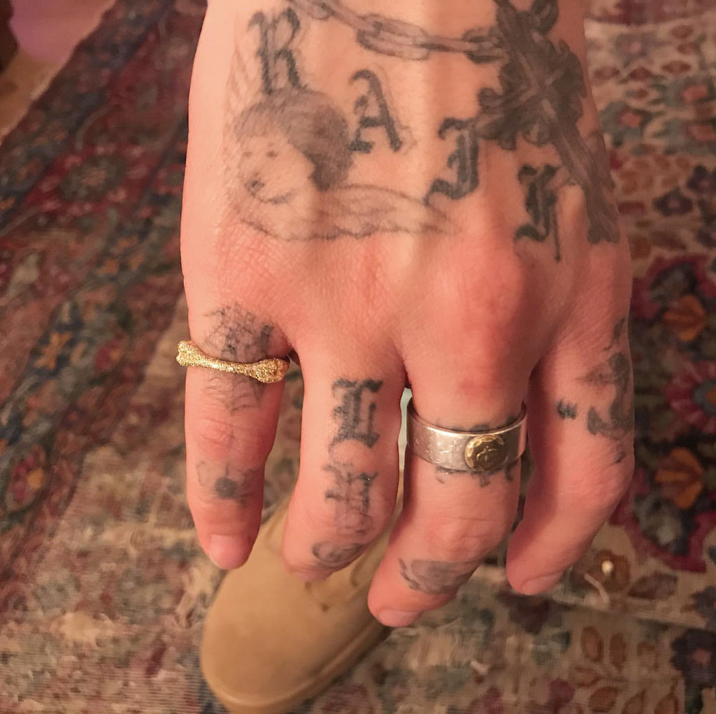 eyefunny bone ring yellow gold silver white gold buy cheap eyefunny jbalvin jewelry ginza tokyo japan badbunny