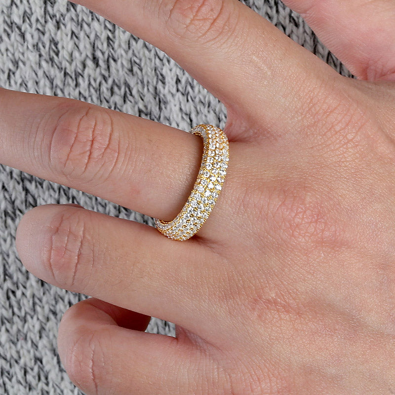 925 vermil gold silver engagement ring harry winston free shipping vvs diamond