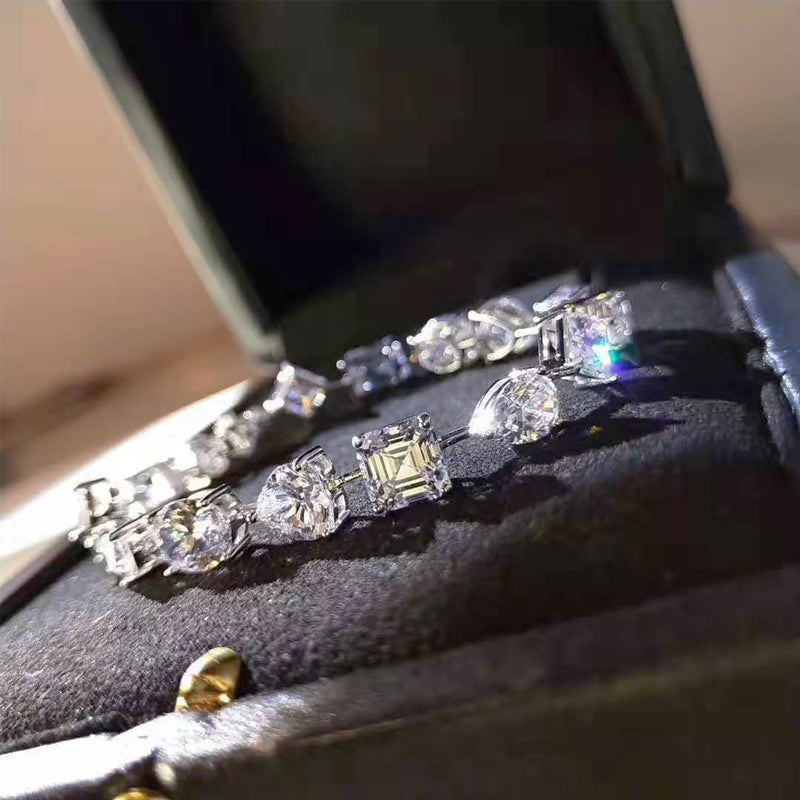 Graff Multi-shape diamond Bracelet vvs ifandco luxury kylie jenner