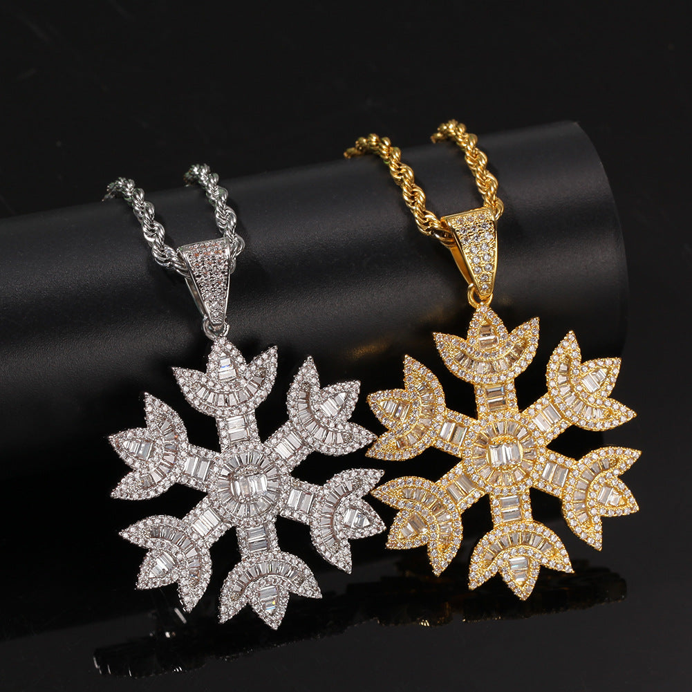 Quavo Gifts Saweetie A $75K Iced Snowflake pendant necklace chain free vvs diamond girl my type