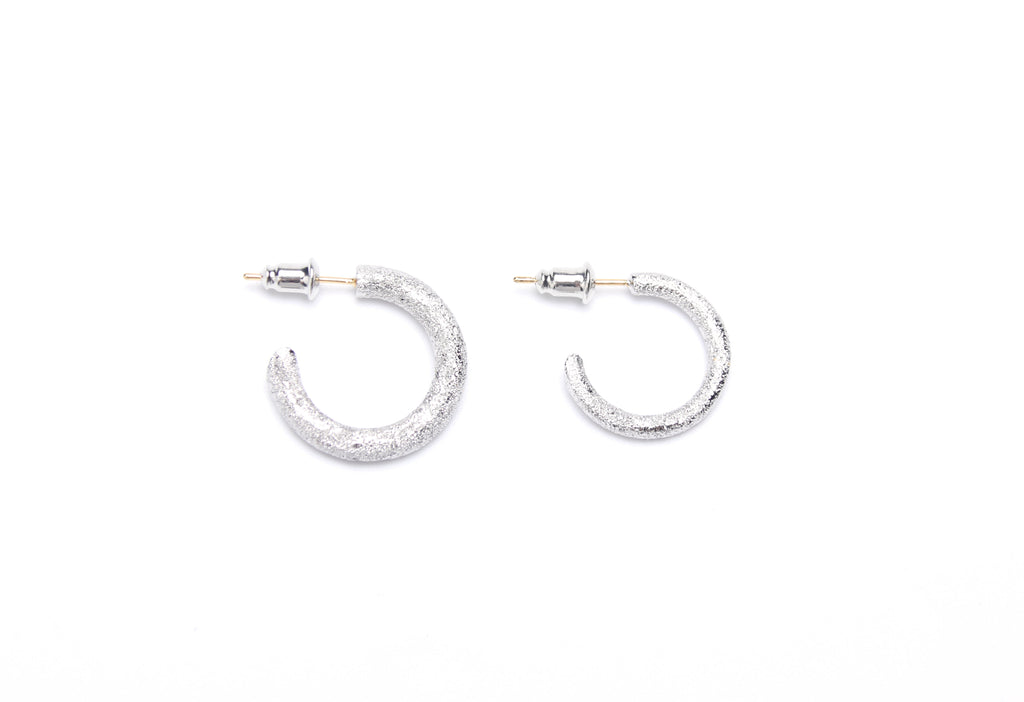 high fashion luxury hoop earrings silver 925 white gold yellow gold coated 18k diamond