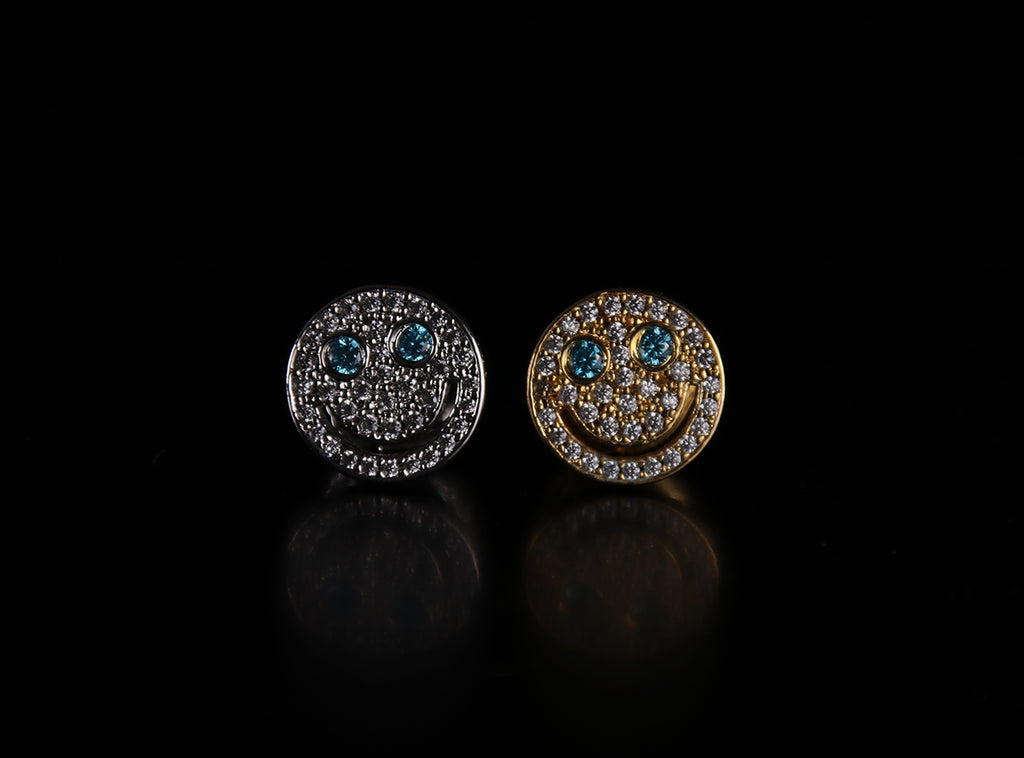 eyefunny smiling face stud earring as seen on jbalvin chain アイファニー EYEFUNNY 高価買取強化中 ブランド買取のRINKAN