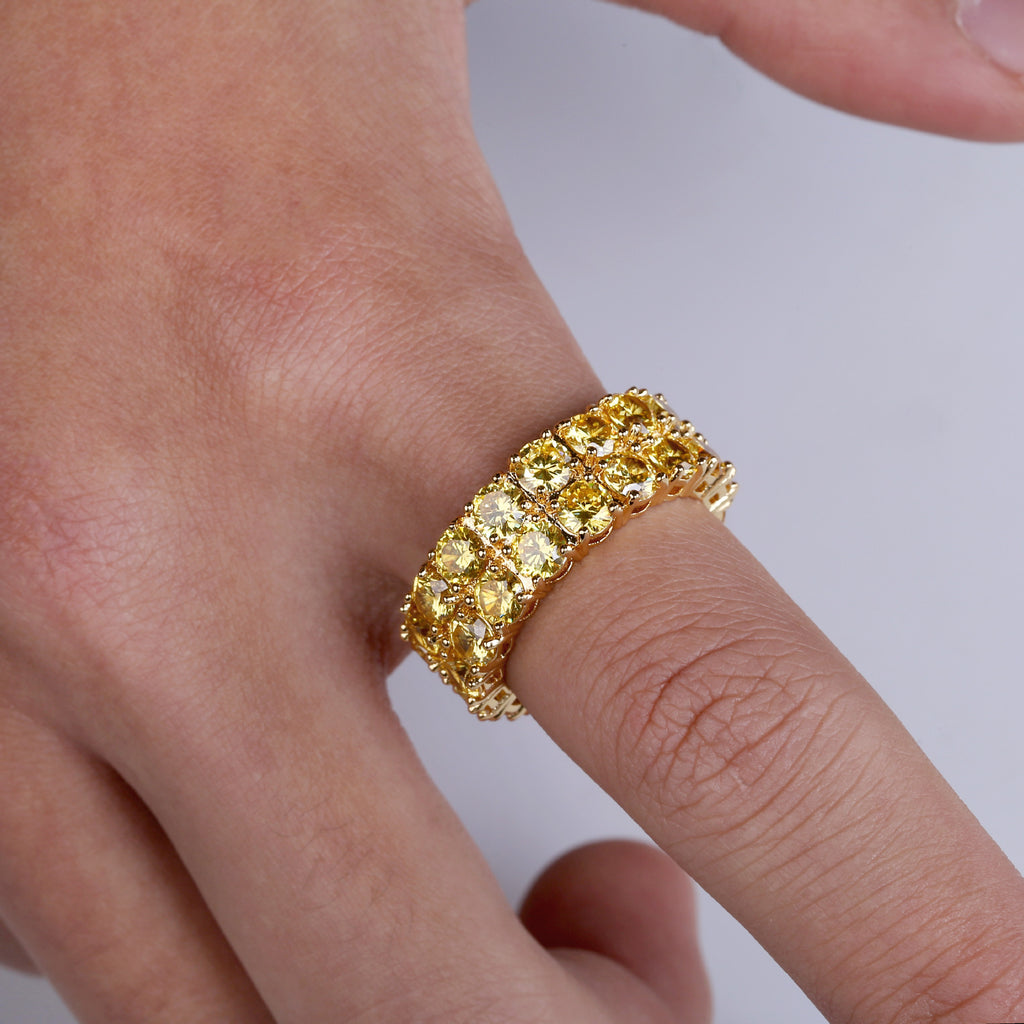 canary eternity ring diamond vvs ifandco custom jeweler shopgld travis scott kylie jenner ring