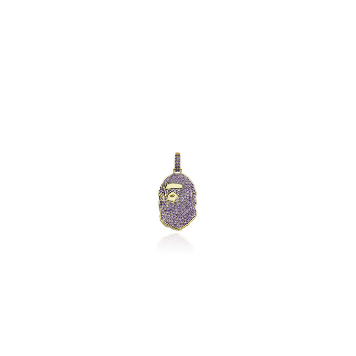 bape necklace pendant free chain included bathing ape