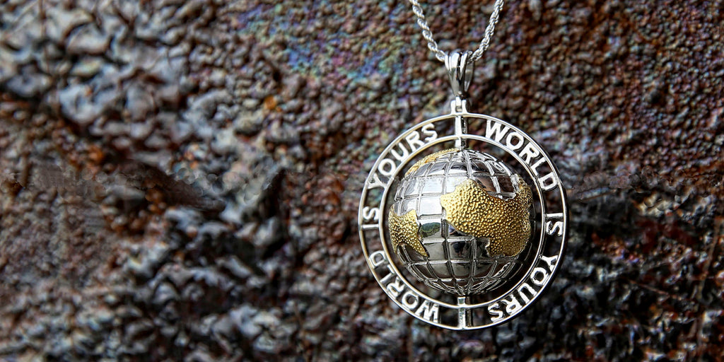 nas world is yours pendant necklace chain ifandco
