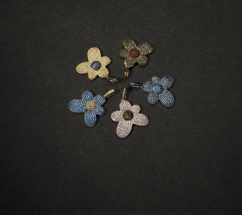 golf le fleur tyler the creator flower boy pendant necklace free chain igor ifandco vvs diamond ben baller