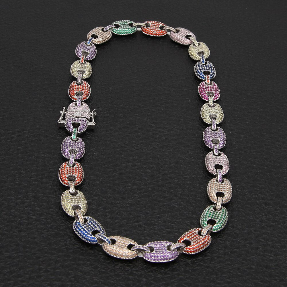 gucci link chain 13mm diamond necklace bracelet affordable jewelry lifetime guarantee shopgld