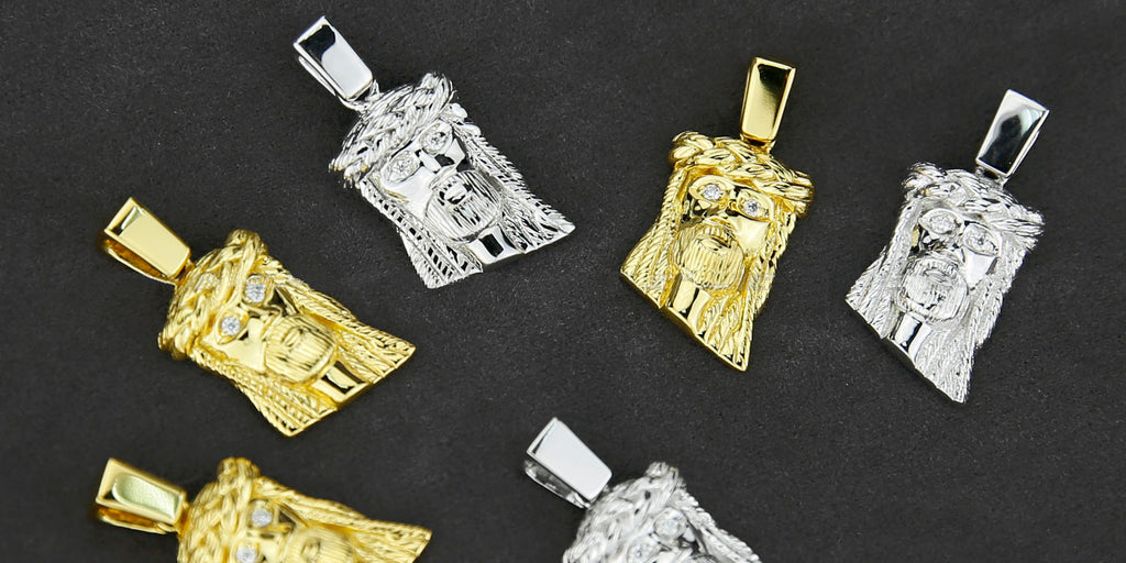 shop all jesus piece pendant necklace chain affordable ifandco hip hop jewelry