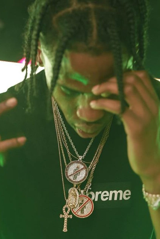 ankh necklace chain pendant as seen on Travis scott la frame