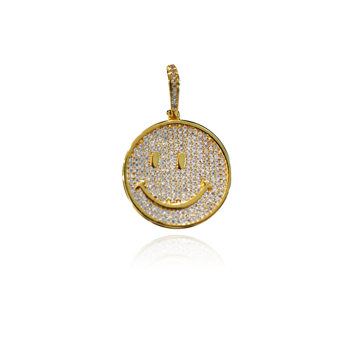 Travis Scott Astroworld smiley globe pendant necklace free matching chain pendant vvs ifadnco