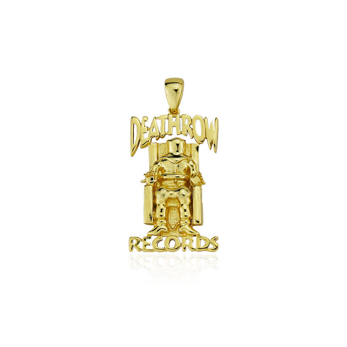 Deathrow Tupac pendant with free chain gold silver