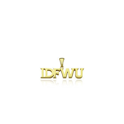 IDFWU big sean pendant gold