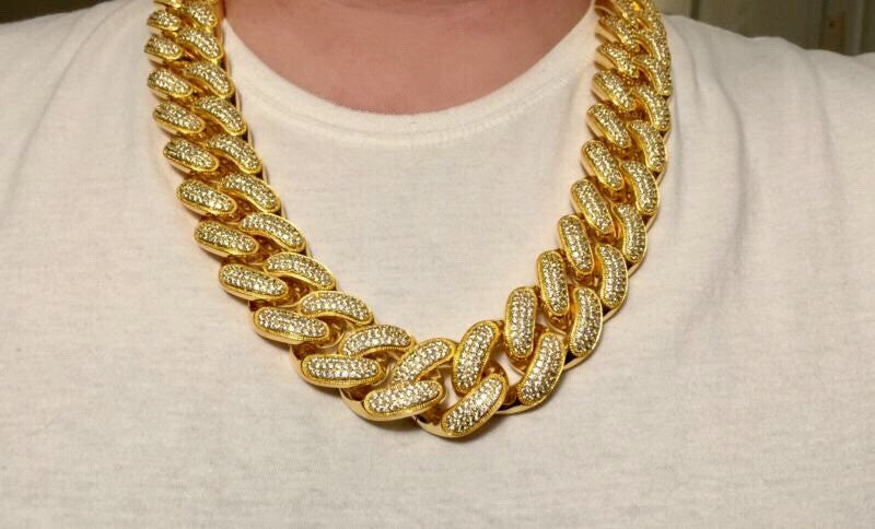 Iced out Cuban Link Chain