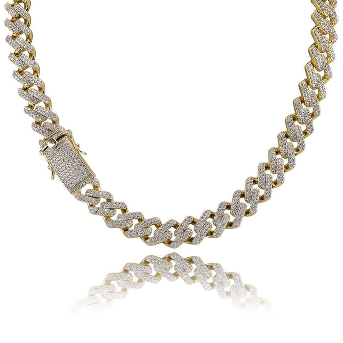 curb cuban link miami as seen on migos vvs diamond necklace shopgld