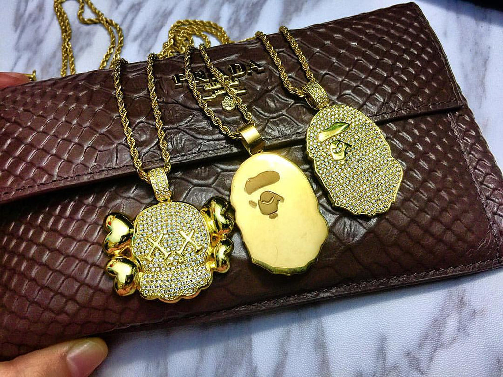 Bape pendant & Necklace