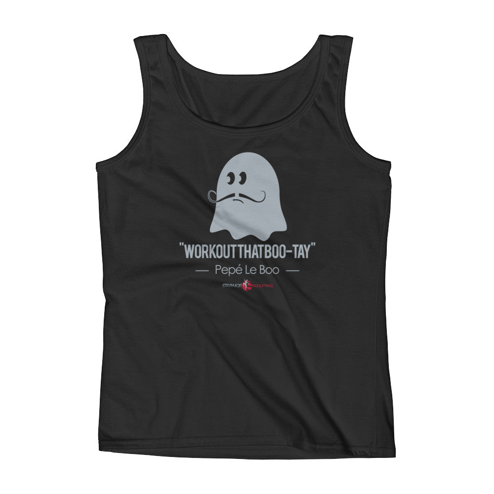 WORKOUTTHATBOO-TAY Ladies' Tank